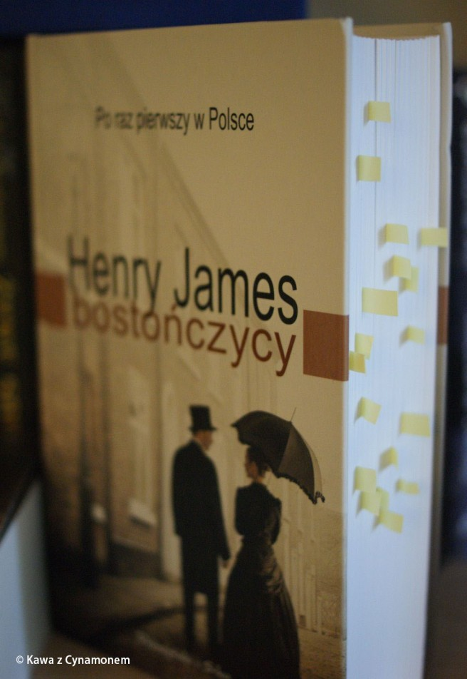Bostończycy, Henry James