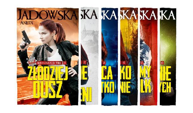 Aneta Jadowska seria o Dorze Wilk