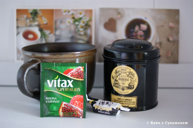 Kawa z Cynamonem - herbata