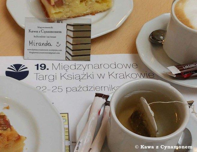 Targi Książki w Krakowie 2015 - Kawa z Cynamonem
